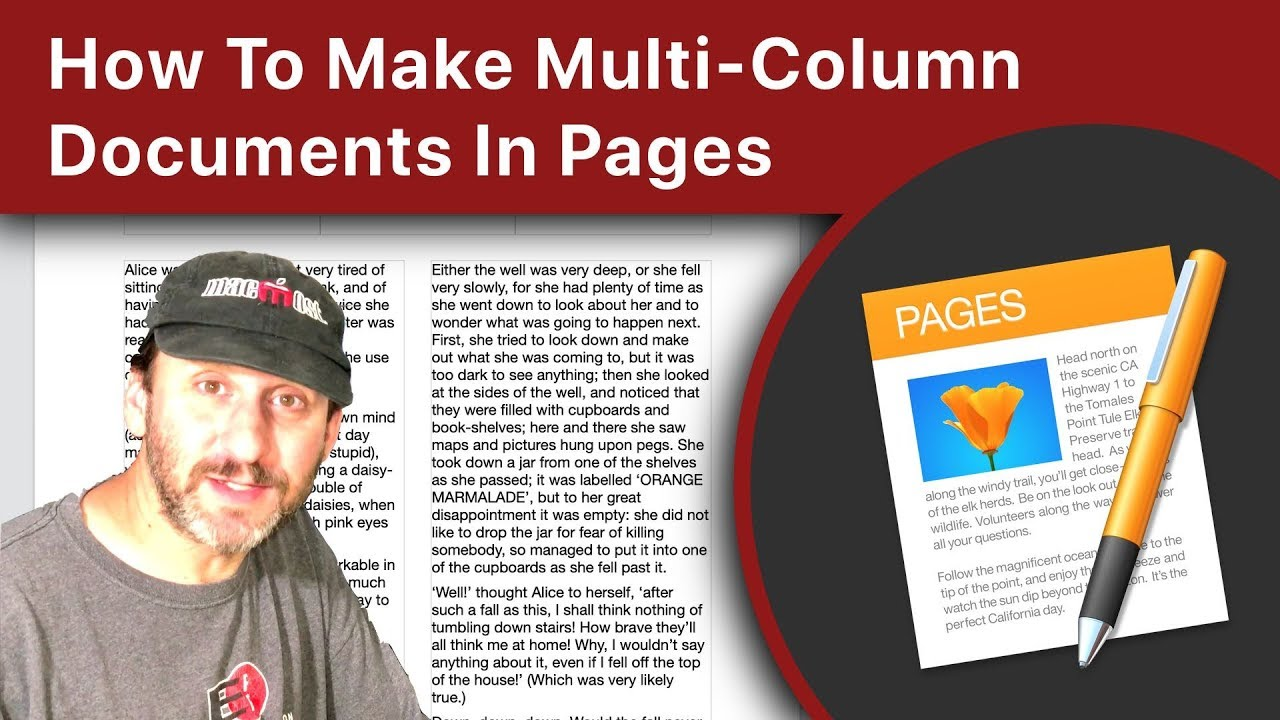 How To Make Multi-Column Documents In Pages