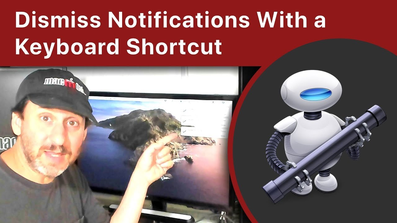 Dismiss Notifications With a Keyboard Shortcut Using Automator