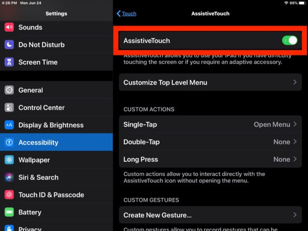 How to use mouse on iPad