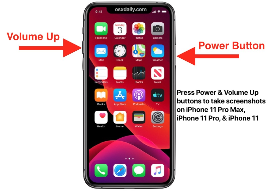 How to Take a Screenshot on iPhone 11, iPhone 11 Pro, iPhone 11 Pro Max