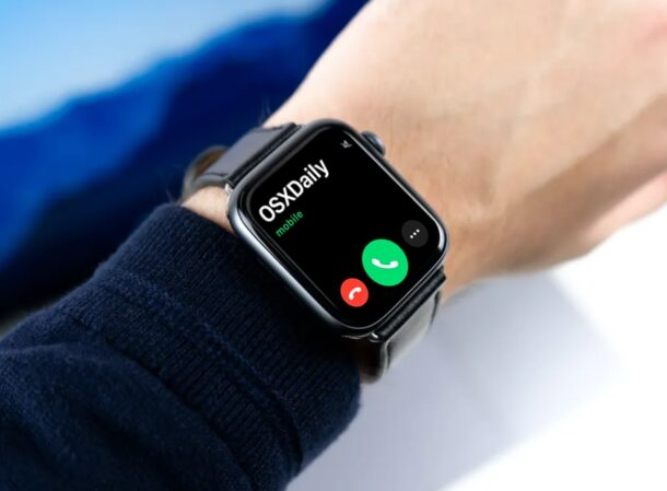 How to Answer & Reject Phone Calls on Apple Watch