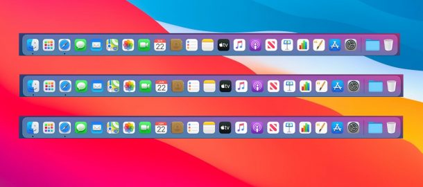 Moving the Dock to different screens on Mac