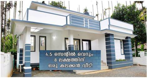 750 Square Feet Single Bedroom Low Budget Home Design and