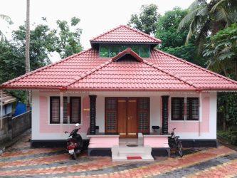 budget kerala low bedroom 800 feet square homes designs plans lack lacks lac sq ft plan modern village models houses