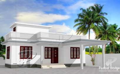 budget bedroom low single floor feet square plan plans tips modern bungalow kerala homepictures porch easy