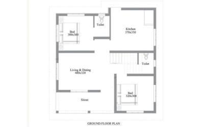 bedroom low simple budget plan cute floor square easy feet single tips sq