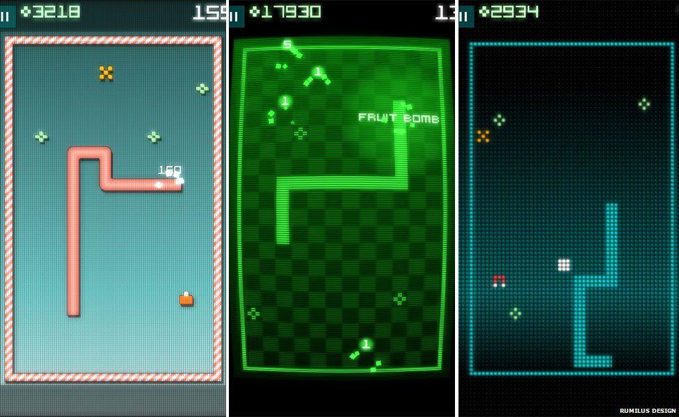 Game 'Snake Rewind'