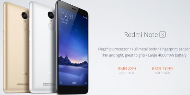 Xiaomi, Redmi Note 3, MediaTek, Helio X10