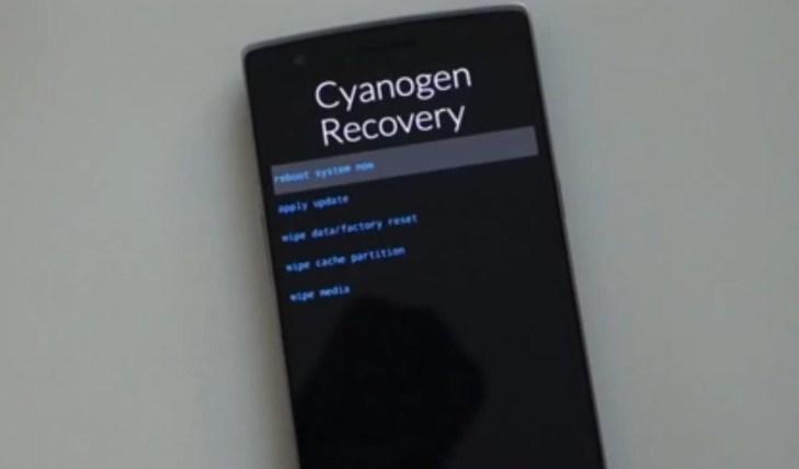 Cara Reset , OnePlus One