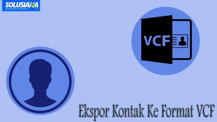 VCF Kontak