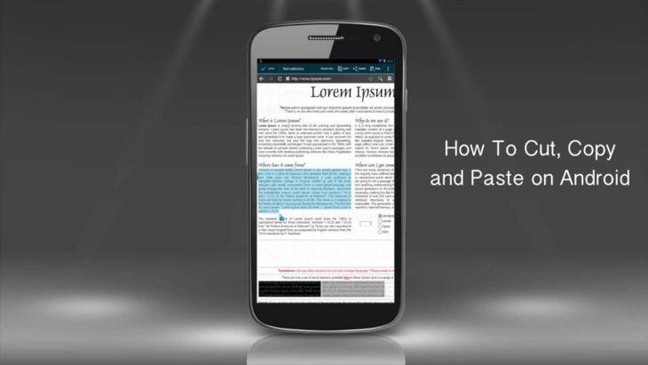 Cara Mudah Menyalin Dan Menempelkan (Copy Paste) Teks Pada Android 1