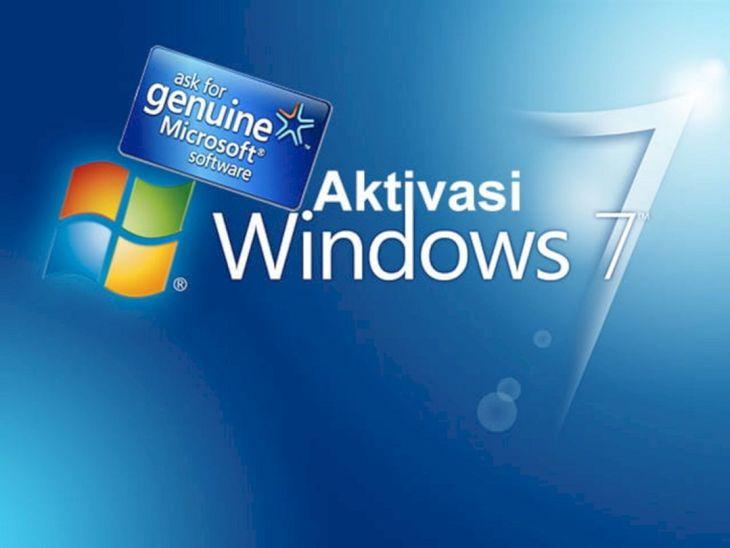 Cara Aktivasi Windows 7 Secara Permanen
