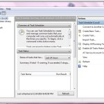 Windows 7 Task Scheduler