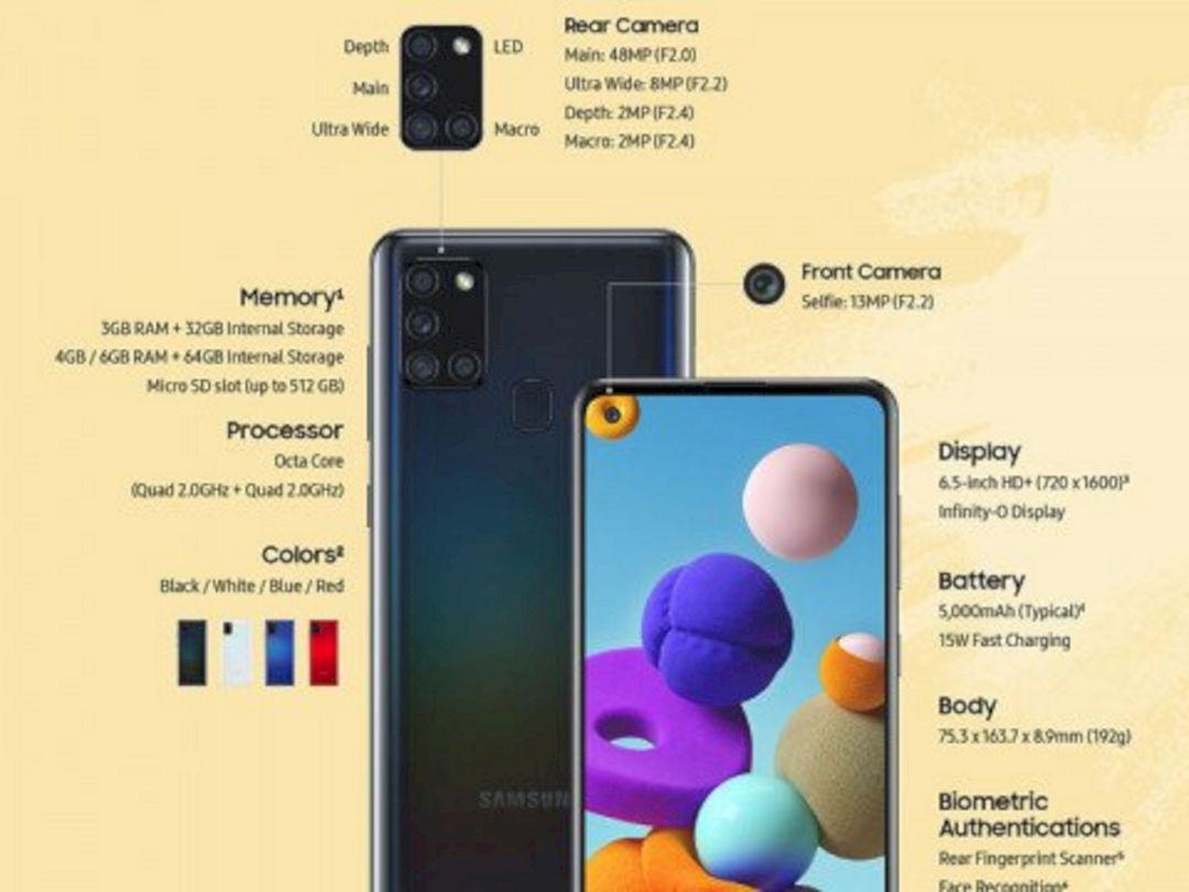 Resmi Diluncurkan Samsung Galaxy A21s Dibekali Chipset Exynos 850 Dengan Ram 4gb Tips Tricks
