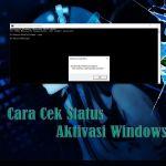 Status Aktivasi Windows