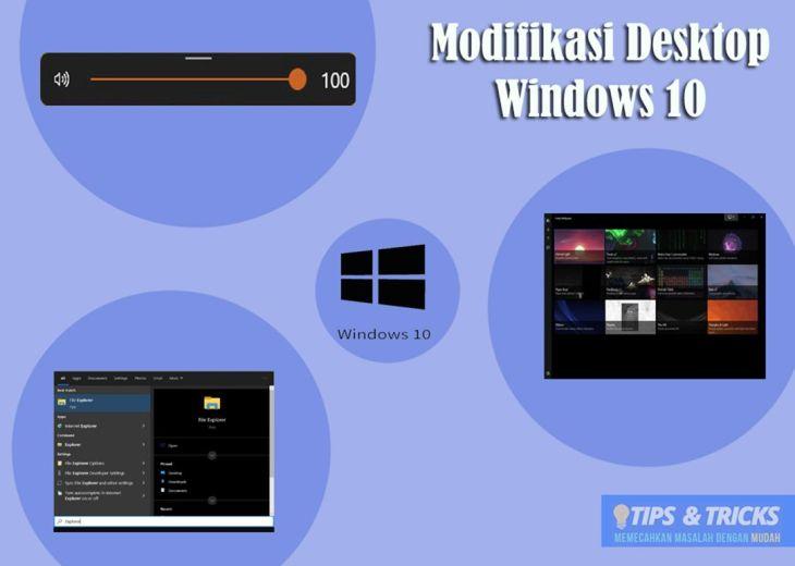 Modifikasi Desktop WIndows10
