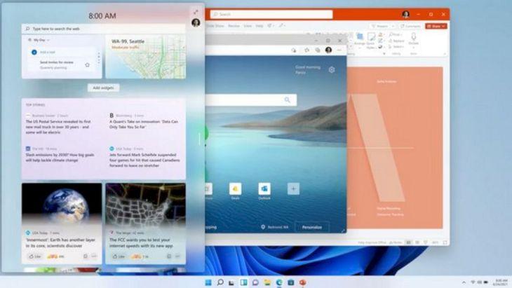 Windows 11 Mirip macOS
