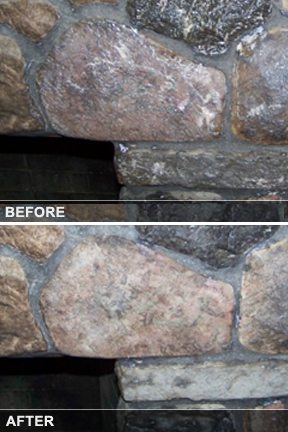 Cleaning Fireplace Soot from Brick or Stone  Simply Good Tips