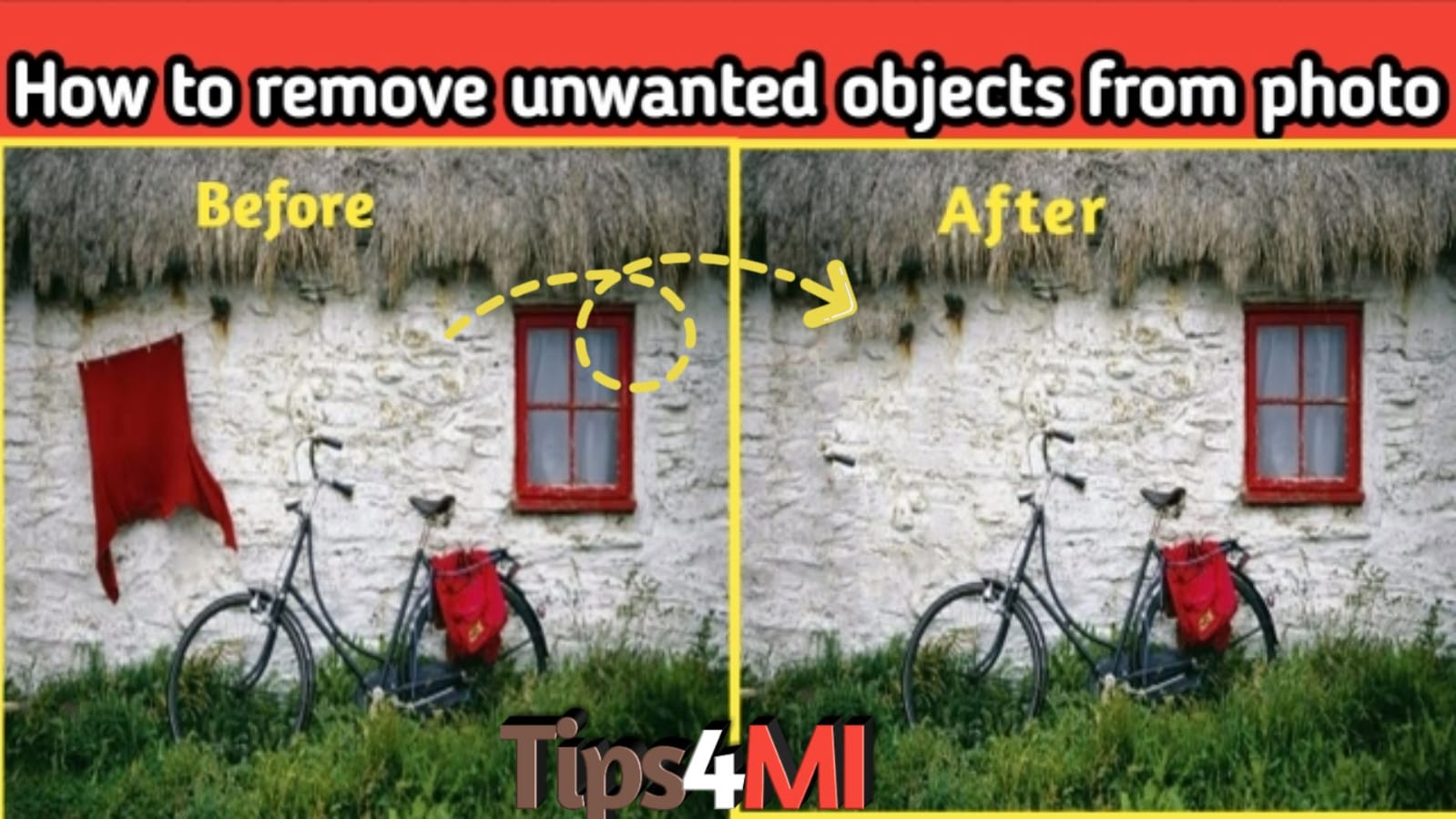 remove objects from photos free