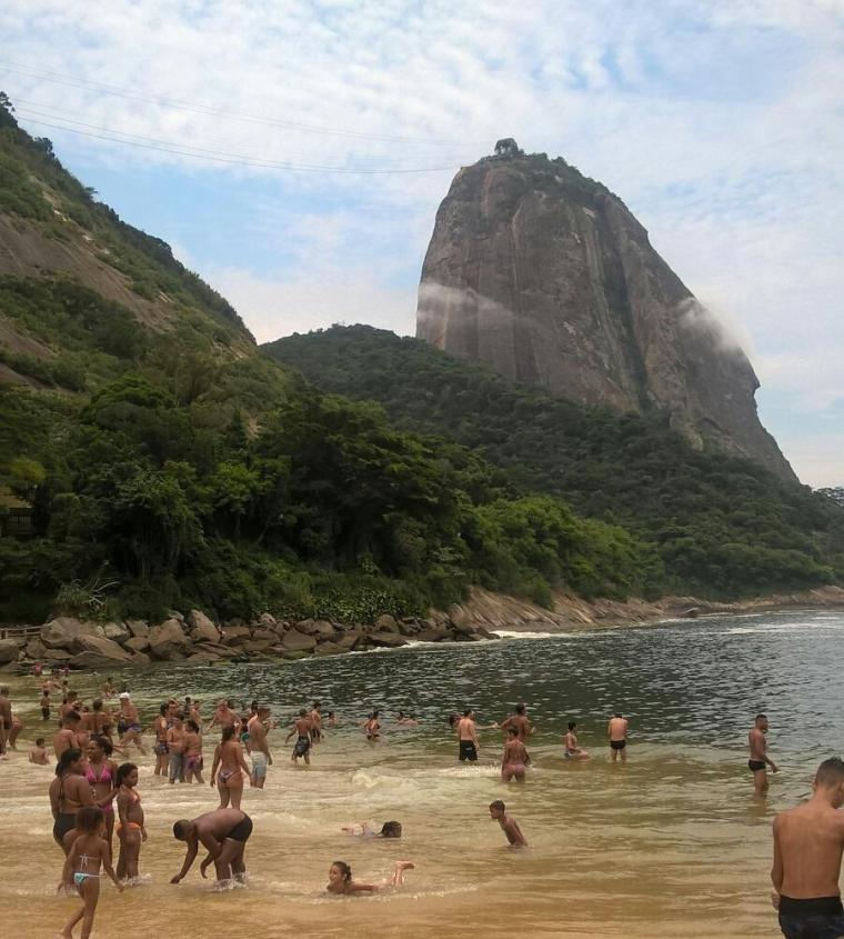 Praia Vermelha, ai piedi del Pan di Zucchero di Rio de Janeiro