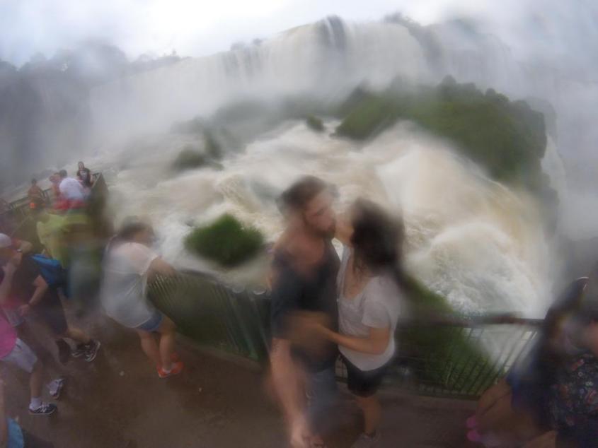 Le Cascate di Iguazù dal lato brasiliano