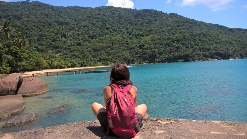 Verso la spiaggia Lopes Mendes di Ilha Grande