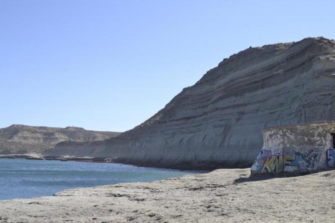 Scogli di Puerto Piramides alla Penisola di Valdes