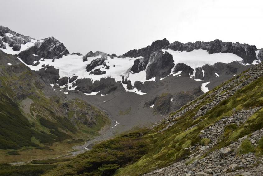 Il Ghiacciaio Martial di Ushuaia Tierra del Fuego