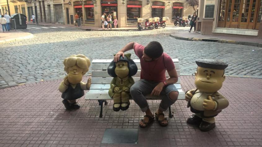 Percorso dei fumetti di Buenos Aires: Mafalda