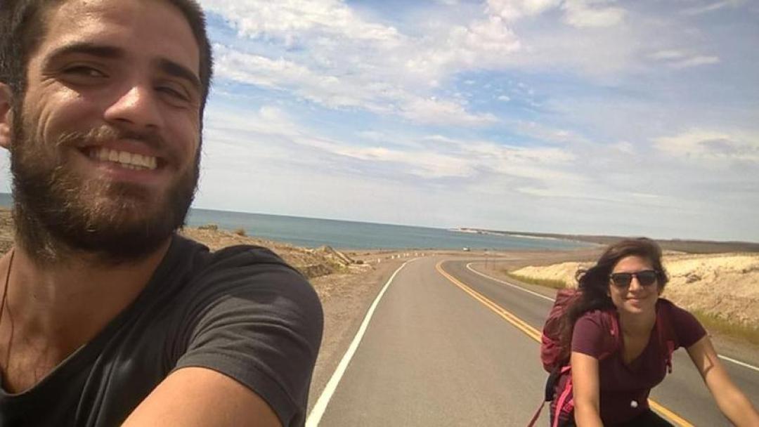 In bicicletta alla loberia di Punta Lomo a Puerto Madryn