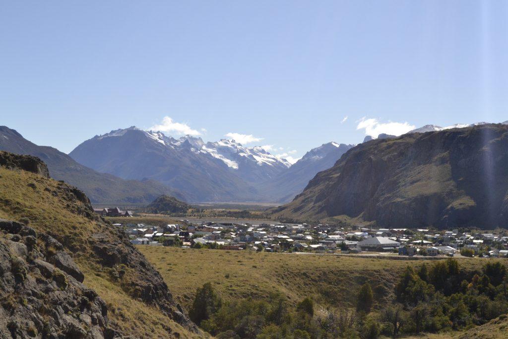 Vista panoramica su El Chalten