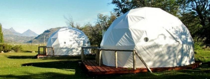Domos del Camping La Auracaria a Villa Cerro Castillo in Cile