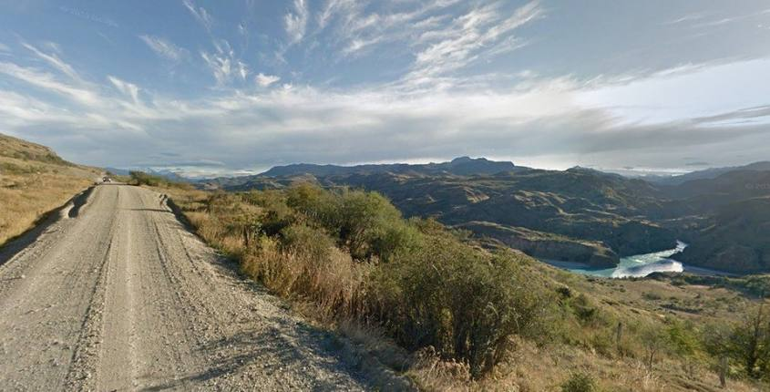 La Carretera Austral in Cile