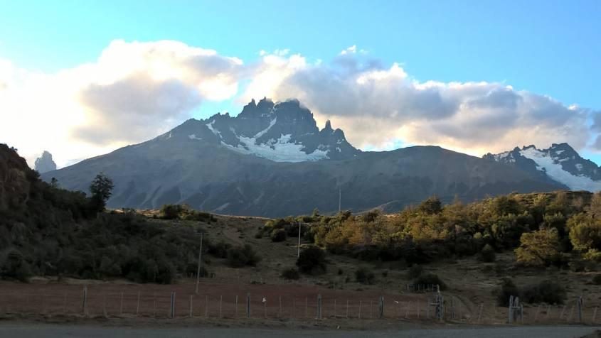 La spettacolare montagna Cerro Castillo in Cile