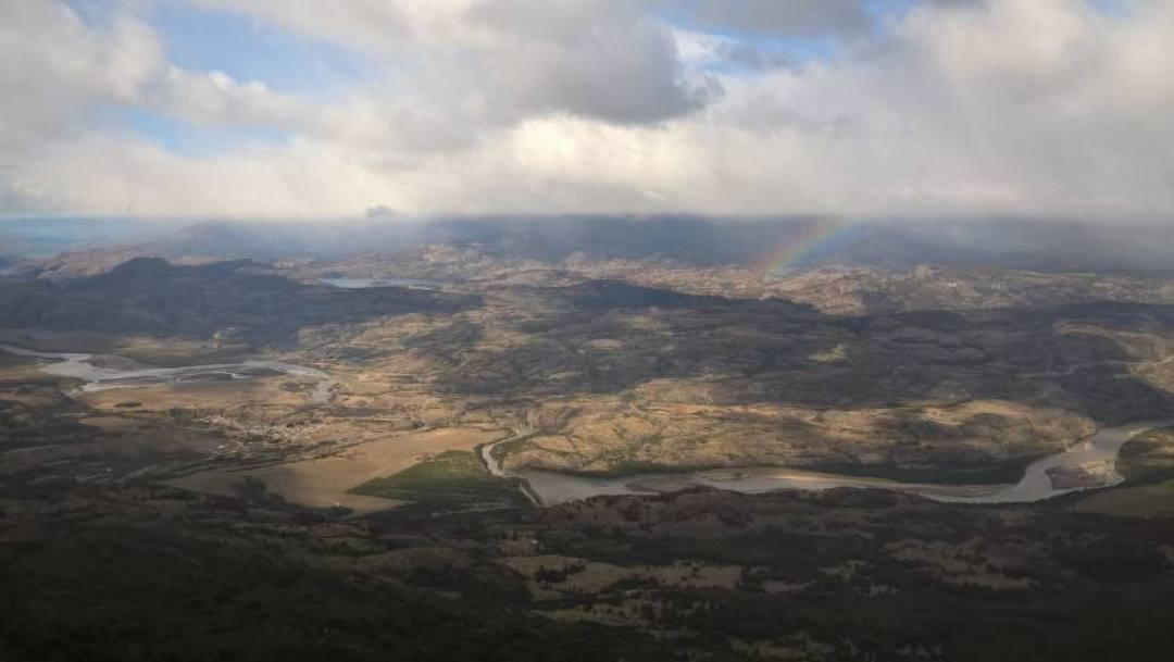 Panorama nel percorso di Trekking al Cerro Castillo in Cile