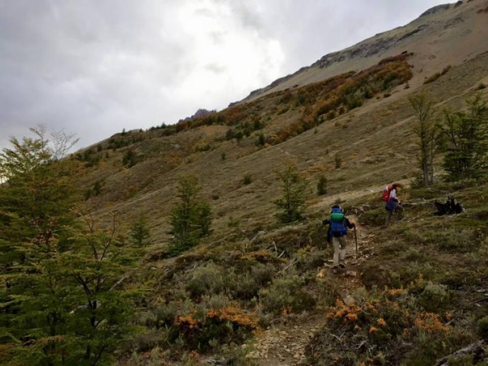 Percorso di Trekking al Cerro Castillo in Cile
