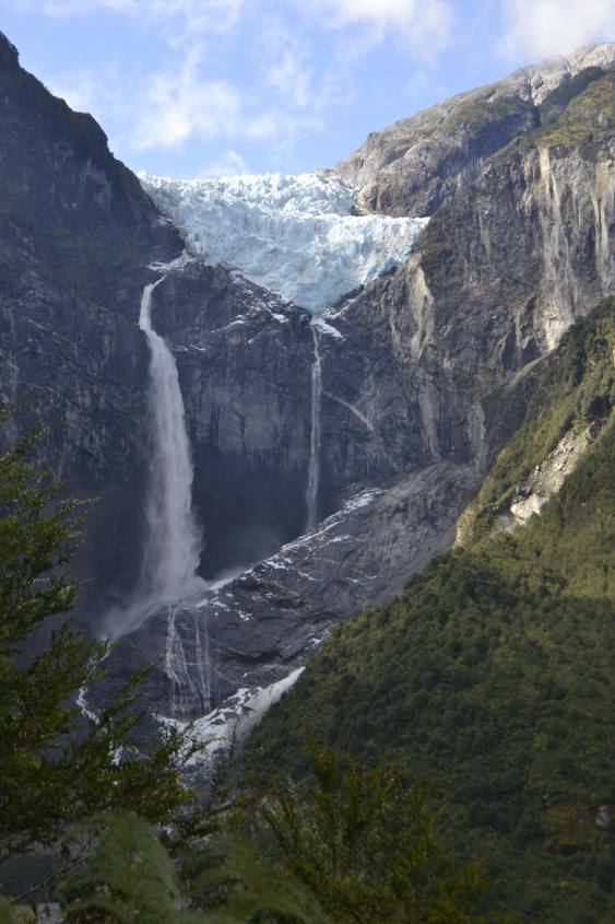 Ventisquero Colgante Parco Nazionale Queulat in Cile