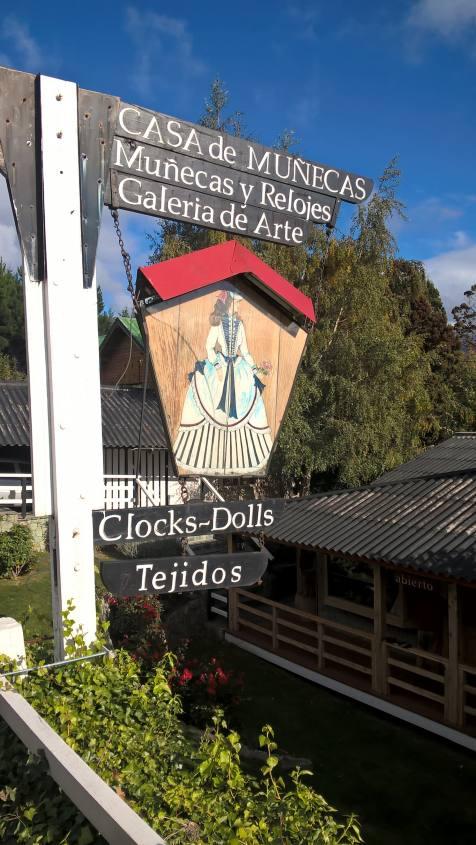 Casa delle bambole di San Carlos de Bariloche in Argentina