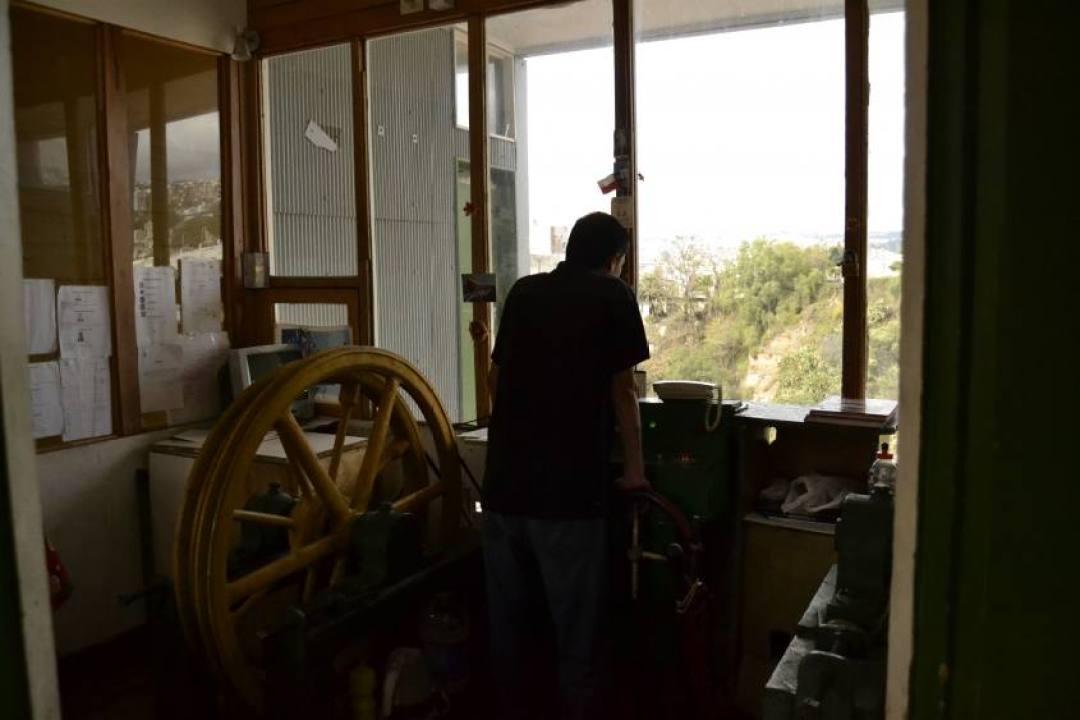 Lavoratore della teleferica di Valparaiso