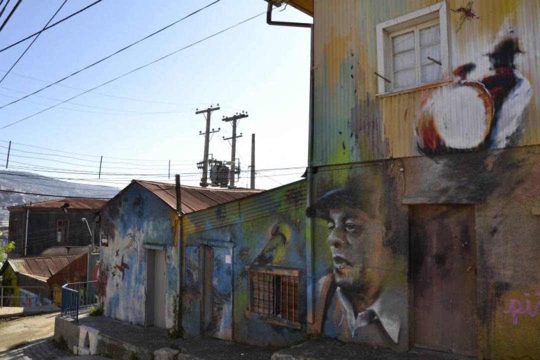Museo a Cielo Aperto dei murales di Valparaiso