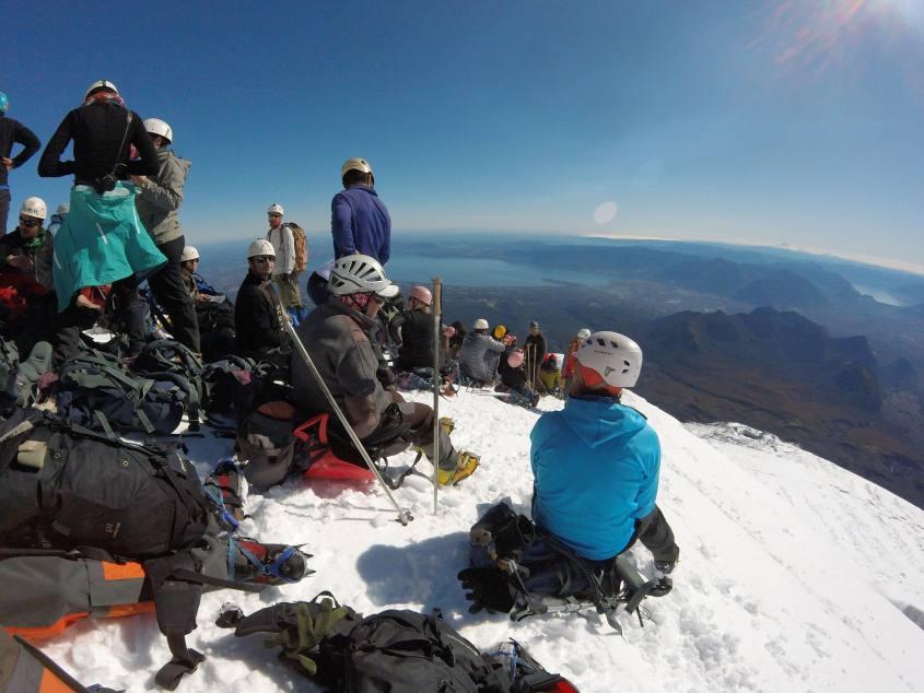 L'ultima sosta prima del cratere del Vulcano Villarrica di Pucon in Cile