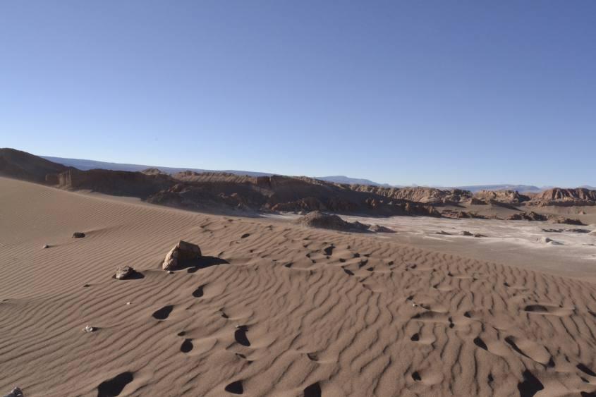 Deserto di Atacama nella Valle della Luna