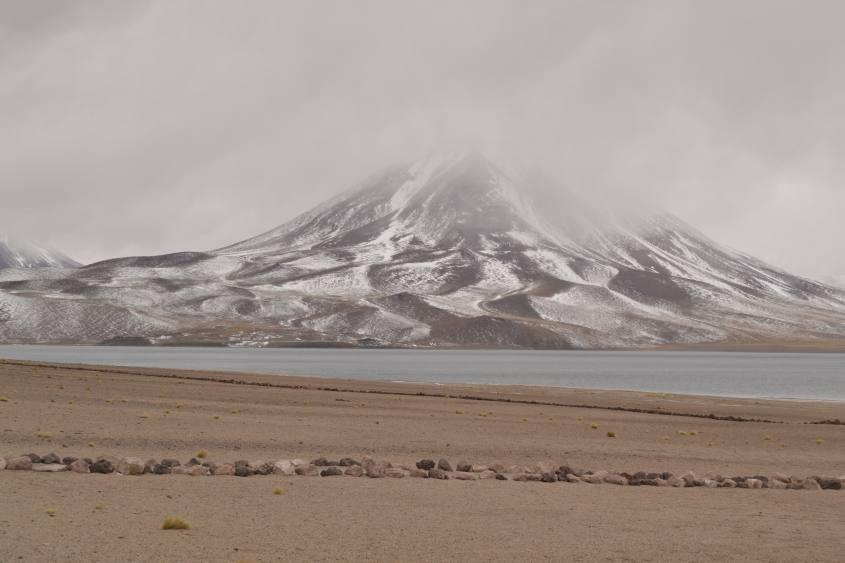 Le Lagune Altiplaniche Miscanti e Miñique nel deserto di Atacama in Cile