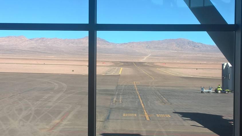 Aeroporto Calama vicino a San Pedro di Atacama in Cile