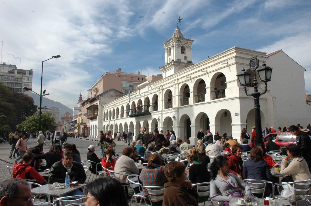 Centro storico di Salta la Linda