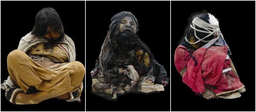 Mummie del Museo Archeologico MAAM di Salta in Argentina