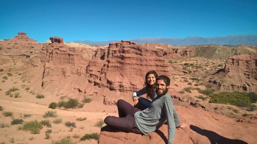 Piccolo Canyon durante il tour da Salta a Cafayate in Argentina