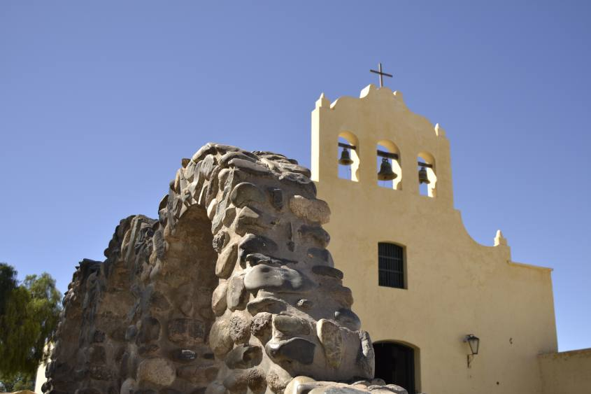 Chiesa nel centro di Cachi in Argentina