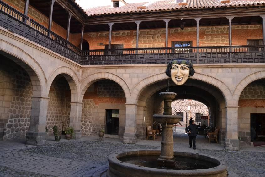 Corte interna del Museo della Casa della Moneta a Potosì in Bolivia