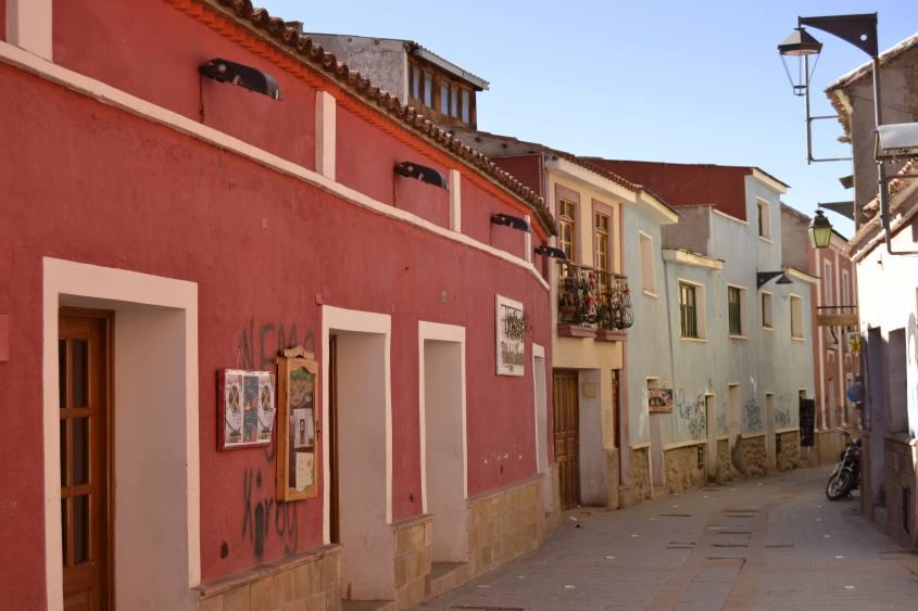 Vie del centro di Potosì in Bolivia